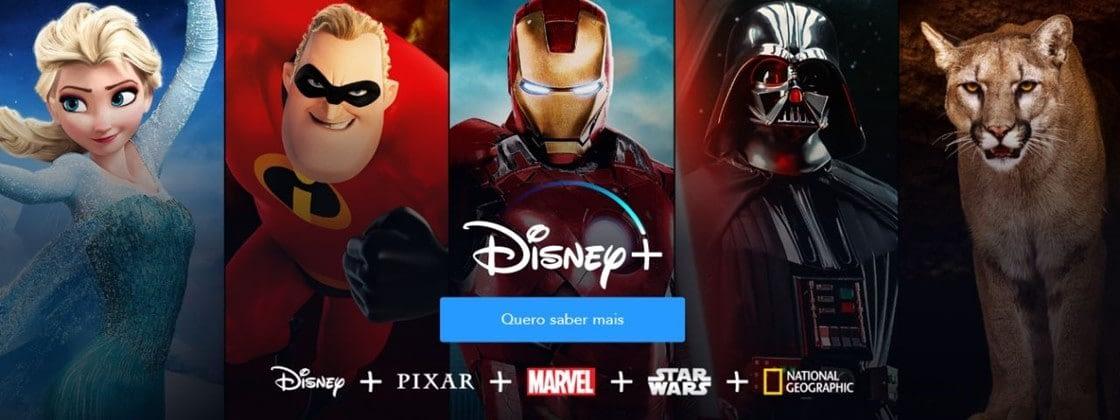 Disney+ no Brasil: lançamento é contestado pela Claro